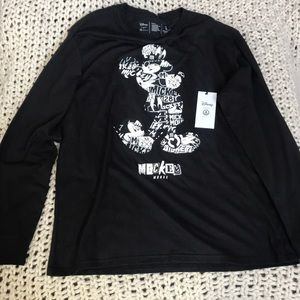 New*Disney Neff Collection Mickey Long Sleeve Sz L
